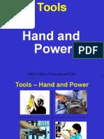 Hand and Power Tools OSHA