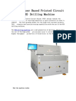 The UV Laser Based Printed Circuit Board -PCB- Drilling Machine