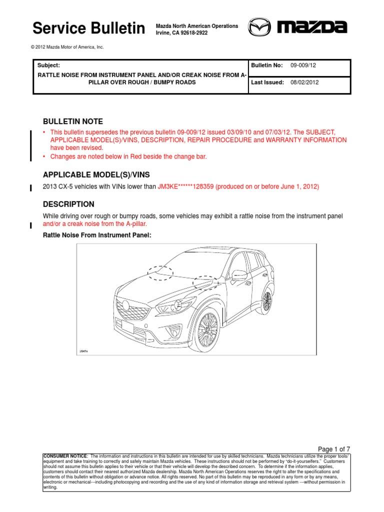 ruido suspension delantera cx-5 pdf