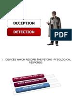 Legal Medicine - Deception Detection