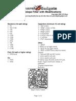 Ggg Mxr Envelope Filter Mods