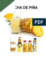 Chicha de Piña Grupo # 12
