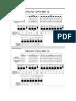 Registrações orgão MD10II