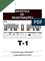 Apostila de Registração - T1