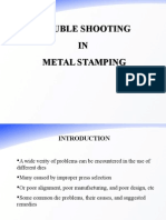 Trouble Shooting in Sheet Metal