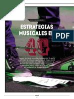 Estrategias musicales en 4G