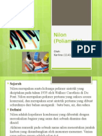 Nilon (Poliamida)