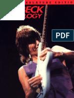 Guitar Tab Book - Jeff Beck - Anthology