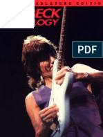 Guitar Tab Book - Jeff Beck - Anthology