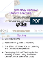 Does Technology Improve Student Learning