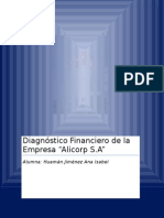 Analisis de Alicrp 2009