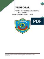 Proposal Kegiatan Perpisahan.2012 - 2013