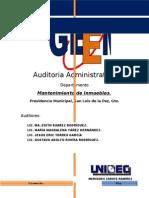 Proyecto Auditoria Administrativa Eric Edith Gustavo Magdalena 1