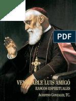 Luis Amigó, Rasgos espirituales.