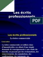 écrits professionnelsLC