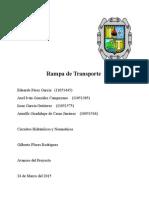 Reporte Circuitos Hidraulicos 2