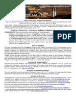 Bulletin de Jumaa Prayer 26 Juin 2015