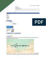 Llena Tu Cuerno - Liderazgo - Entrevistas, Sexualidad, Consejería, Adicciones, Predicaciones - Desarrollo Cristiano Internacional - Articulos