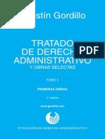 GORDILLO, Agustín. Tratado de Derecho Administrativo, t. v (1)