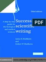 Book Succ Sci Wri (Chapter 6)