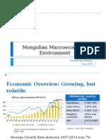 Mongolian Macroeconomic Environment June18 Eng