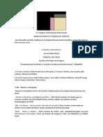 IV Colóquio Jushumanista Internacional - programa definitivo 22 junho 2015