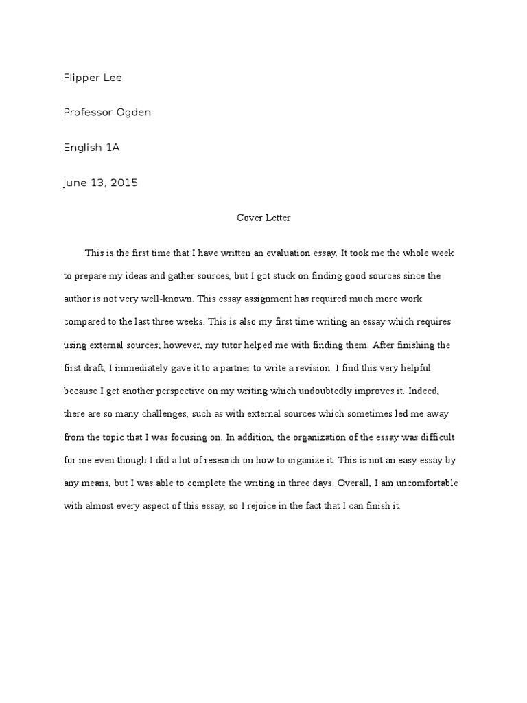 Flood essay by annie dillard