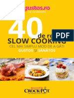 Carte de Bucate Slow Cooker