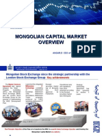 Mongolian Capital Market Overview