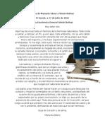 Carta Manuel Sanchez