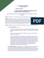 Banking - AMLA 4 Laws