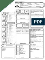 Krell (Fighter Warlock) - Character Sheet - V1
