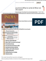 How to Write Essay in UPSC Exam