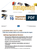 Chapter 10 Organizational Structure and Design.ppt