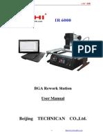 ACHI IR6000 Manual English