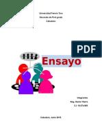 teoría del pensamiento grupal y de la cultura organizacional
