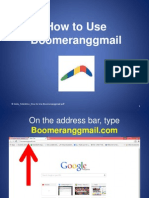 How to Use Boomeranggmail
