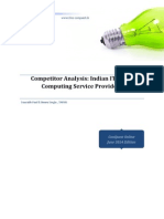 Competitor Analysis Indian IT Cloud Computing Analysis