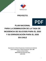 Plan Nacional Erradicacion Silicosis 25.6.2011