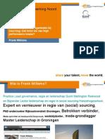 Lezing Frank Willems Leiderschap Samenwerking Noord Juni 2015