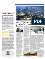 Singapore, A National Pride 50 Years on - Gulf Times 25 June 2015
