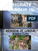 Presentation on Migrate Labour in Punjab