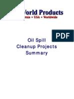 BioWorld Bioremediation Oil Spill Summary