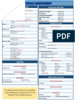 PeopleTools Cheat Sheet