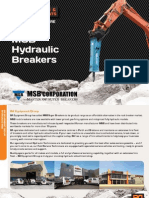 MSB Hydraulic Breakers Catalogue