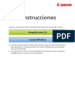ImageBrowser EX Camera Instruction Manual ES