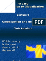Globalization and Democracy (1)