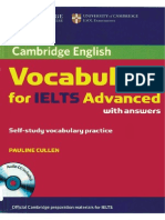 Vocabulary for IELTS Advanced Book
