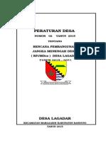 RPJMDes Lagadar 2015 2021.OK Doc