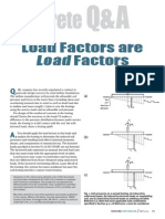 Soil Pressure Contact Area Load Factors